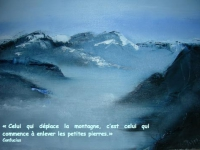 37 - Carte montagnes - Jasna Jeremic